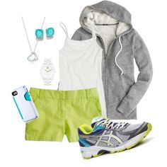 """Sporty Casual"" by eheitzman81 on Polyvore"
