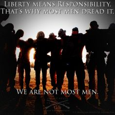 We are not most men - God Bless Americans