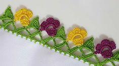 Baby Knitting Patterns, Saree Tassels Designs, Creative Embroidery, Needle Lace, Piercings, Crochet Flowers, Bud, Needlework, Bridal