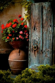 """Most Beautiful Antique Farmhouse And Vintage Front Doors Ideas For Home More Amazing Old Photograph - Still Life With Violin by Andrey Morozov """"Renegade Roses"""" Canvas Print by PhotoRover Farmhouse Front, Antique Farmhouse, Old Doors, Front Doors, Front Porch, Belle Photo, Painting Inspiration, Garden Inspiration, Garden Art"""