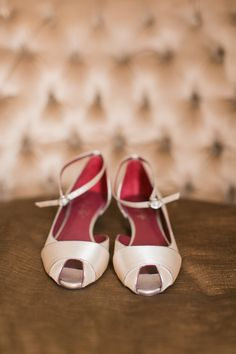 Shoes of Prey custom designed bridal shoes. Photo by Arte Devie Photography.