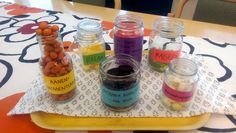 Opehuoneen toukokuun vitamiinipillerit :) Mason Jars, Mason Jar, Glass Jars, Jars
