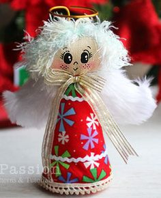 simple toilet paper roll christmas angel craft in 2018 christmas