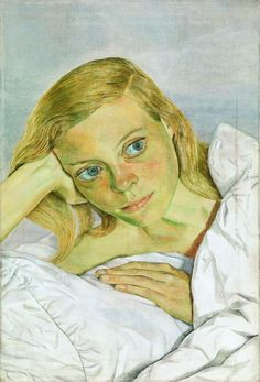 Girl in Bed, Lucian Freud, Londres