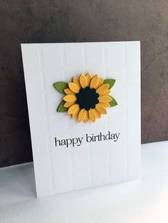 Handmade birthday cards are always more beautiful than store-bought cards. Here you'll find 25 examples of beautiful and clever DIY birthday cards. Cool Birthday Cards, Homemade Birthday Cards, Bday Cards, Birthday Greeting Cards, Birthday Greetings, Homemade Cards, Funny Birthday, Diy Birthday Gifts For Mom, Birthday Cards For Mother