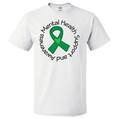Inktastic Mental Health Support Ribbon T-Shirt Medium White inktastic http://www.amazon.com/dp/B00MVD8N94/ref=cm_sw_r_pi_dp_rQVoub0JEM8E9