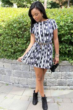 ikat print dress- latoyaforever