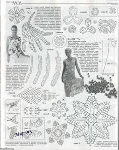 Curso. Crochet Apliques - Patrones Crochet