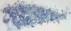 Juxtapoz Magazine - Drawings by Zachari Logan Art Party, Canadian Artists, Magazine Art, New Art, Illustration Art, Illustrations, Art Projects, Contemporary Art, Art Gallery