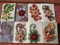 19 Quick Paper Quilling Ideas For Beginners – Quilling Techniques Quilling Comb, Paper Quilling Cards, Paper Quilling Flowers, Neli Quilling, Paper Quilling Patterns, Origami And Quilling, Quilled Paper Art, Quilling Jewelry, Quilling Craft
