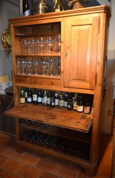 Weinschrank, Weichholz, ca. 1840 Liquor Cabinet, Storage, Furniture, Home Decor, Timber Wood, Purse Storage, Decoration Home, Room Decor, Larger