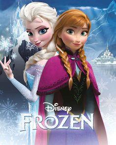 Disney Frozen Fever Sisters Poster
