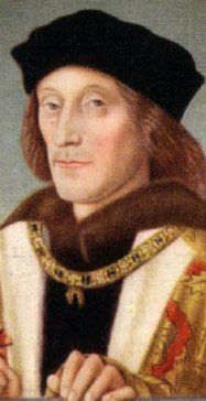 Henry VII - founder of the Tudor dynasty and father of Henry VIII.