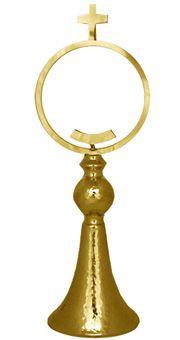 Monstrance: Handy Gold Plated Chapel Monstrance