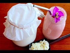 Como hacer kefir de leche casero - YouTube