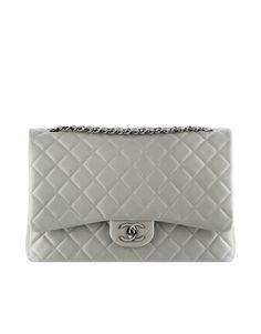291c9024299f Iridescent Grained Calfskin Classic Bag