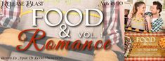 FOOD & ROMANCE GO TOGETHER  VOL 1: AN ANTHOLOGY  Genre: Romance short stories  6 short sweet stories perfectly pairing food and romance. Each include a yummy recipe.  Pumpkin Blossoms by Sue Stewart Ade  Jillian yearns for love and falls for a dog and her sisters former boyfriend. But the dog bolts and the boyfriend seems to still have feelings for her sister. Can she find love with a man who cant see who she really is?  Coffee Cake Chaos by Ryan Jo Summers  Avianna Goodman needs cash. Thats…
