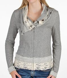 Gimmicks by BKE Raw Edge Sweatshirt - Women's Sweatshirts | Buckle