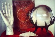 Divination crystal ball