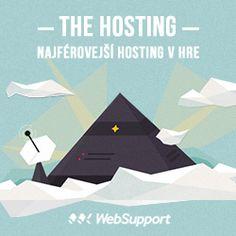 The Hosting - najférovejší prístup k hostingu :: WebSupport. Food And Drink, Poster, Billboard