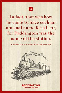 Everyone's name is special! Where did yours come from? | Paddington inspirational quote