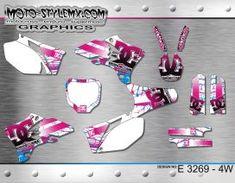 Yamaha YZf 250 - 450 '03-'05 Moto-StyleMX - graphics decals kits