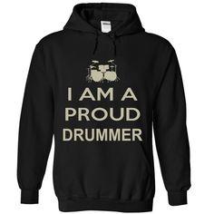 (Tshirt Choice) Proud Drummer. [Tshirt design] Hoodies Tee Shirts