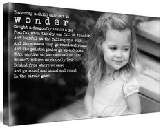 words & photo canvas