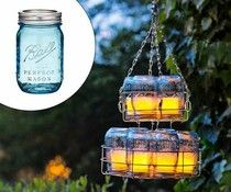be a Ball-er with this mason jar chandy