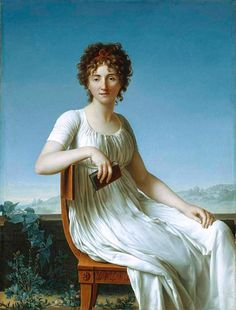 Portrait of Constance Pipelet (1797). Jean-Baptiste-François Desoria (French, 1758–1832). Oil on canvas. The Art Institute of Chicago.