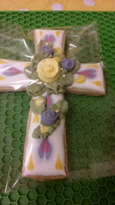 Decorated, Lavender Shortbread