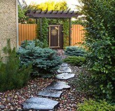 Bilderesultat for garden path Concrete Stepping Stones, Garden Stepping Stones, Pierre Decorative, Garden Images, Home Landscaping, Backyard, Patio, Garden Paths, Beautiful Gardens