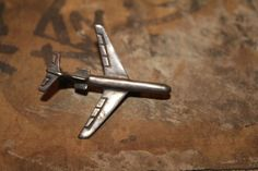 Vintage Sterling 925 Silver Airplane Pin Brooch Clasp by TheAntiqueBird on Etsy https://www.etsy.com/listing/177704336/vintage-sterling-925-silver-airplane-pin