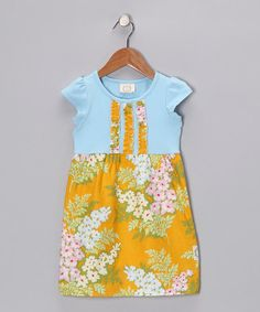 Take a look at this Tangerine Twist Mya's Dress - Infant, Toddler & Girls by Swanky Baby Vintage & Smartie Britches on #zulily today!