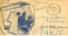 Dünyanın En Pahalı Kartpostalı Picasso'dan http://724kultursanat.com/picassonun-gonderdigi-kartpostali-508-bin-tl/ #picasso #paint #724kultursanat