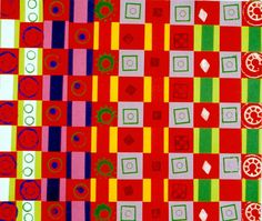 Children make paper weavings and then print on them using found objects. plan 2 sessions. Art for Small Hands: ages 3 to 6