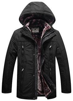 WenVen Men's Military Inspired Long Sherpa Lined Hood Parka Jacket(Black,M) Mens Winter Parka, Winter Jackets, Revival Clothing, Winter Outfits Men, Best Mens Fashion, Men's Fashion, Leather Men, Leather Jackets, Mens Clothing Styles