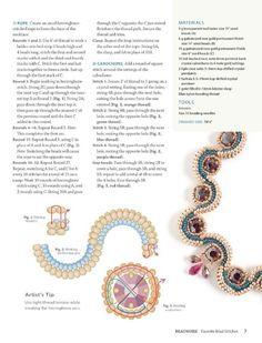 #ClippedOnIssuu from Beadwork Magazine Favorite Bead Stitches 2012