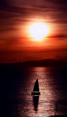 One day I'll just sail away..
