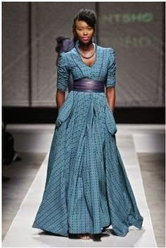 South African Sotho Shweshwe Dresses for 2014