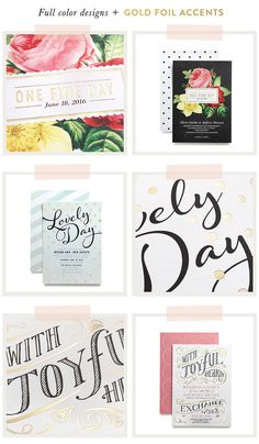 Your save the dates + wedding invitations are the first glimpse your guests will get of your big day — so youll want to make them extra special! Thanks to the new DIY collection from Wedding Paper Divas, letting your paper goods stand out in the crowd just got a whole lot more fabulous! The Wedding Paper…