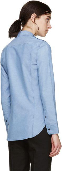 Isabel Marant Etoile - Blue Chambray Wandry Shirt
