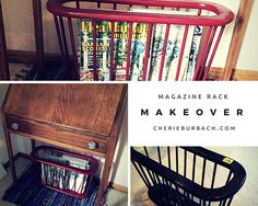 Magazine rack, befor