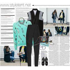 www.styletent.net  by cristina-e on Polyvore featuring Worn By, Ter Et Bantine, Balmain, Miu Miu, Ray-Ban, Arche, Kenzo and SHOUROUK Kenzo, Miu Miu, Balmain, Cocktail, Shoe Bag, Polyvore, Shopping, Design, Women