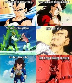 That's why he is my favorite!! Vegeta!!!!!!!!!