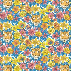 Liberty of London Tana Lawn: Scotty's Tiger (E)