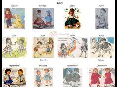 Modes et Travaux - Patrons poupée 1961