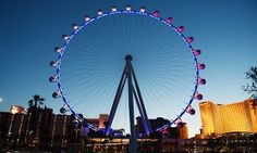 Groupon - VIP Ride Package for Two with Open Bar Options at The High Roller at the LINQ (Up to 37% Off)   in The Strip. Groupon deal price: $75