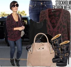 Frankie Sandford Style.... I love her style