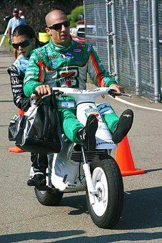 Tony Kanaan - Honda Cub EZ 90